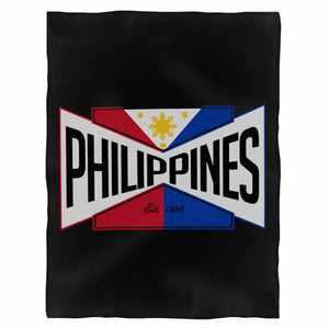Philippines Fleece Blanket