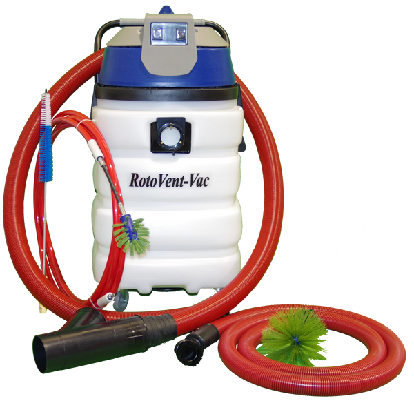 RotoVent-Vac Dryer Vent Cleaning Machine System for Sale ...