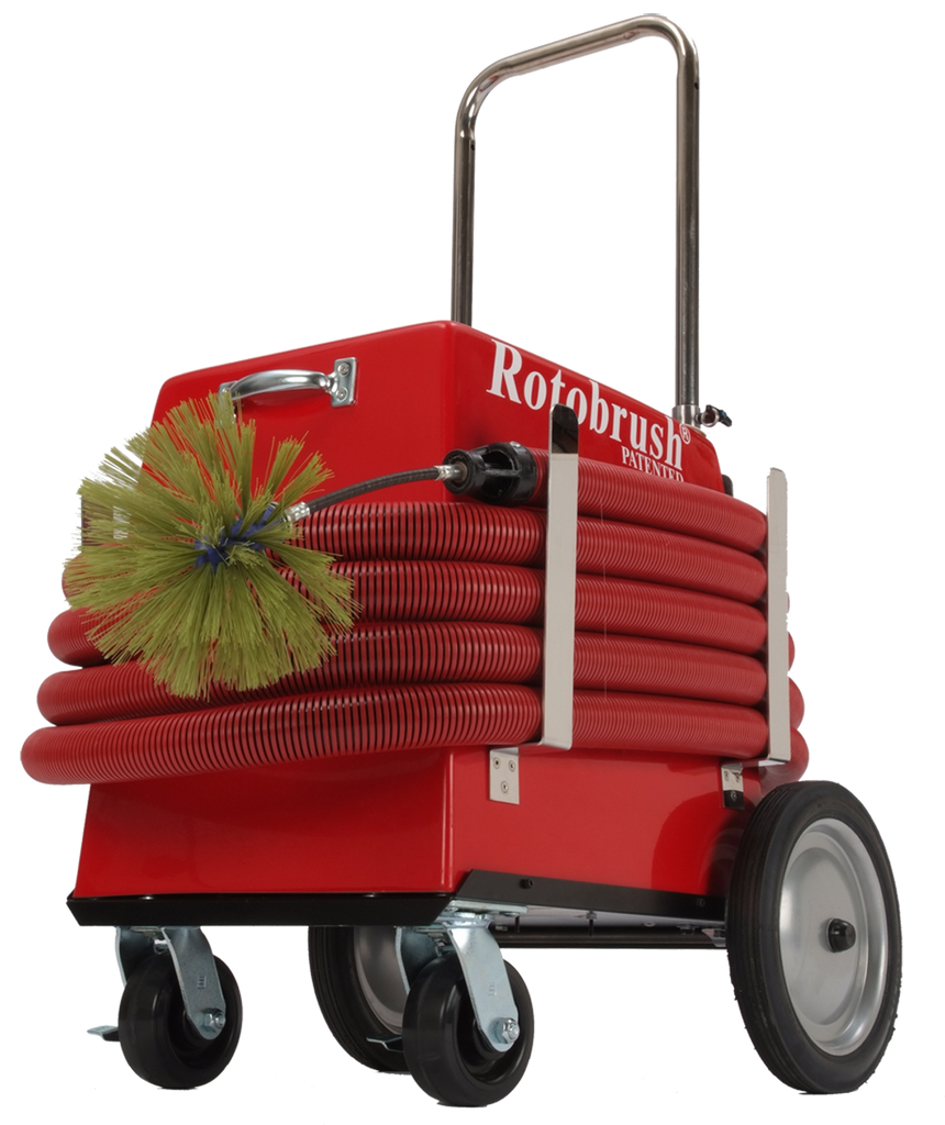 Standard Rotobrush Air Duct Cleaning Machine For Sale