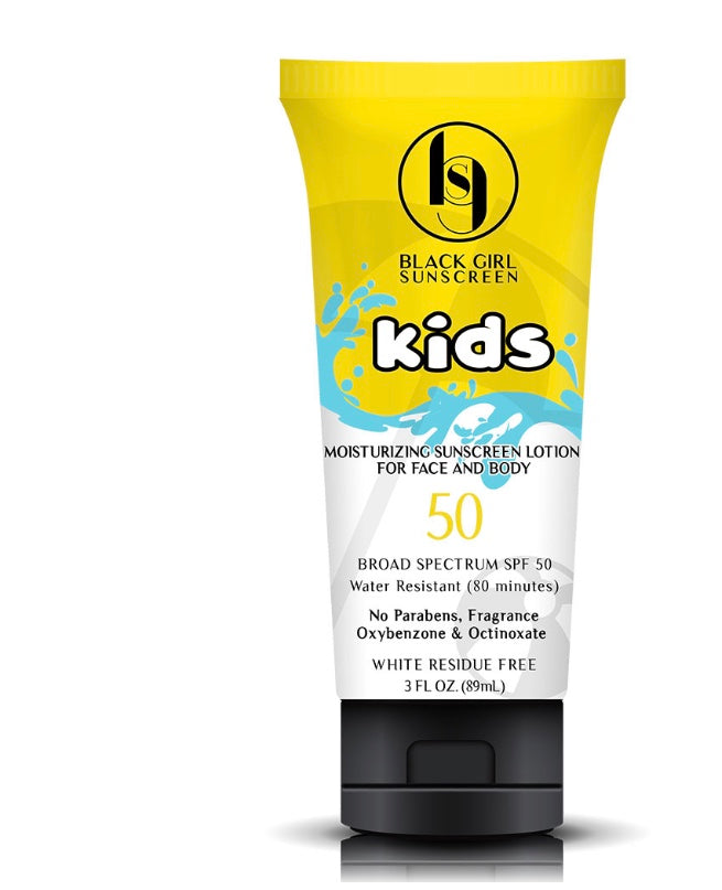 Black Girls Sunscreen Kids SPF 50