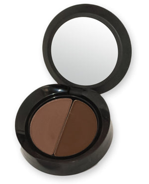 Damone Roberts Minx Brow Shadow Duo (Dark Brown)