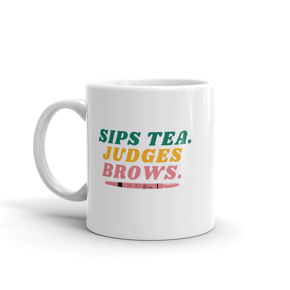 DETROIT BROWS SIGNATURE MUG