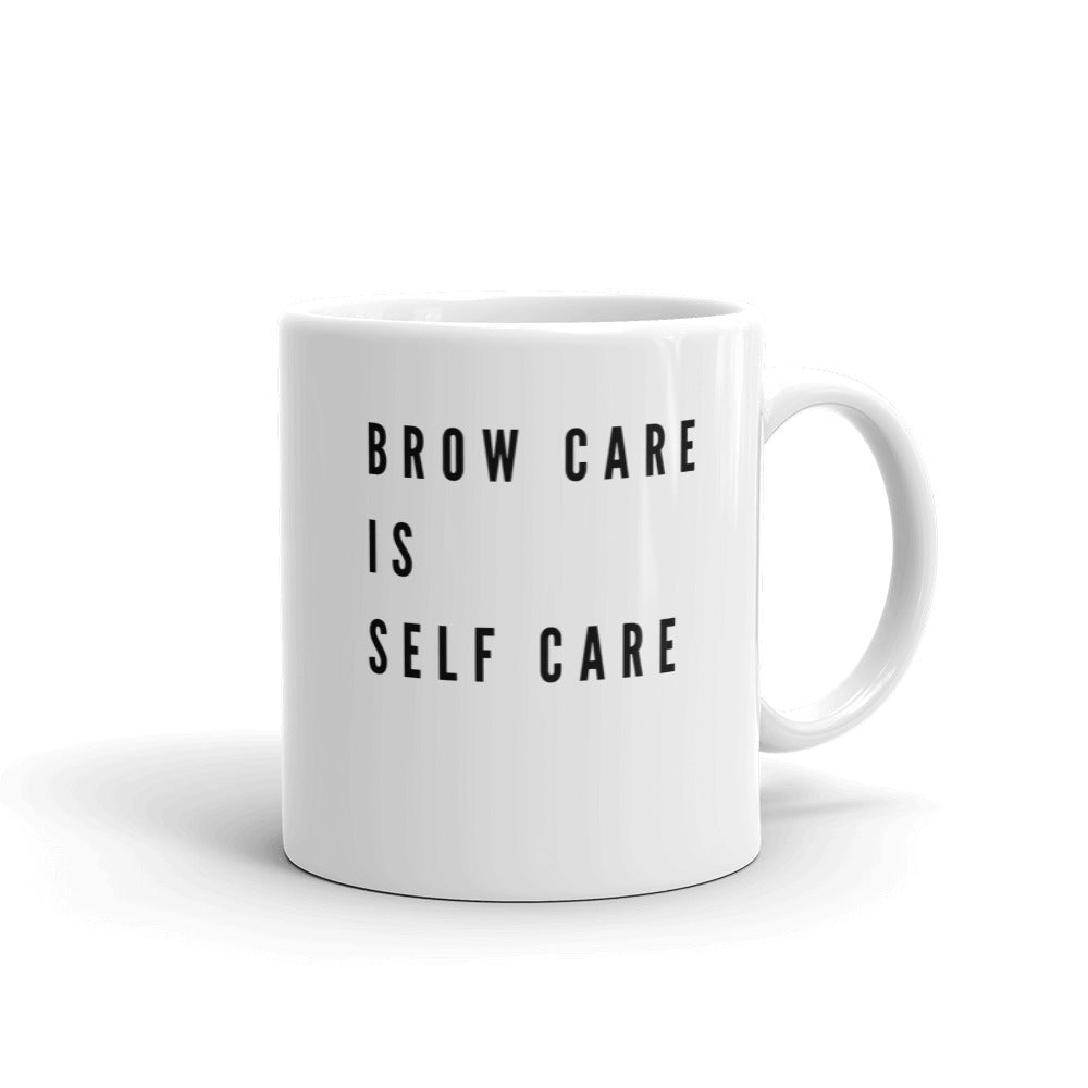 BROW CARE IS SELF CARE MUG