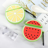 Fruit Pattern Silicone Protactive for Apple AirPods with Charging Case (2019)