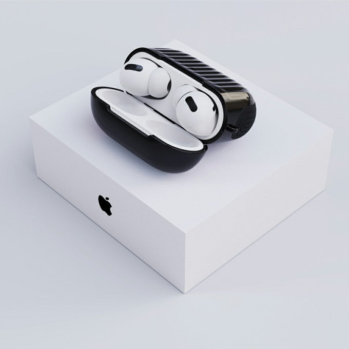 Suit Style Glossy Rubberized PC+TPU Protactive for Apple AirPods Pro