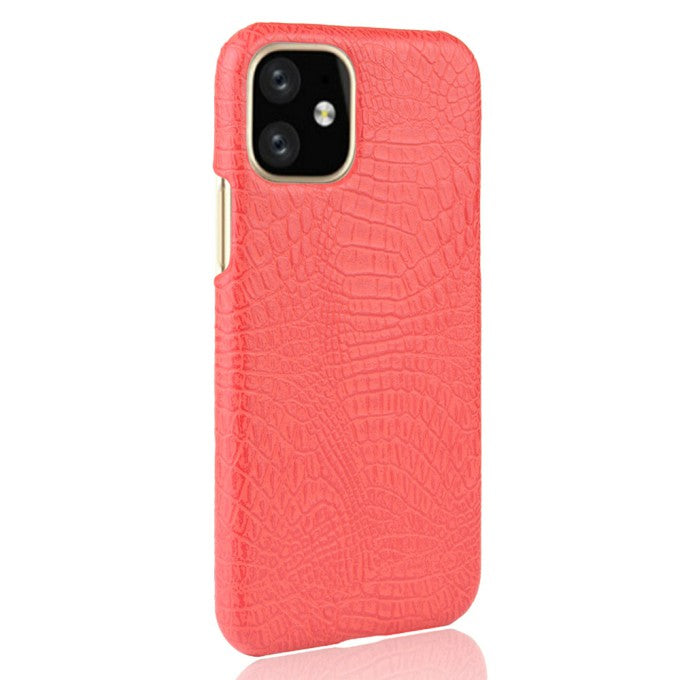 Crocodile Texture PU Leather Protective Case for iPhone 11 6.1 inch