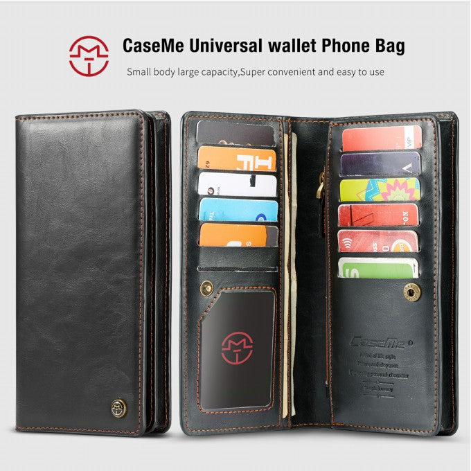 Wallet Universal Leather Phone Case for iPhone 11 Pro Max 6.5 inch