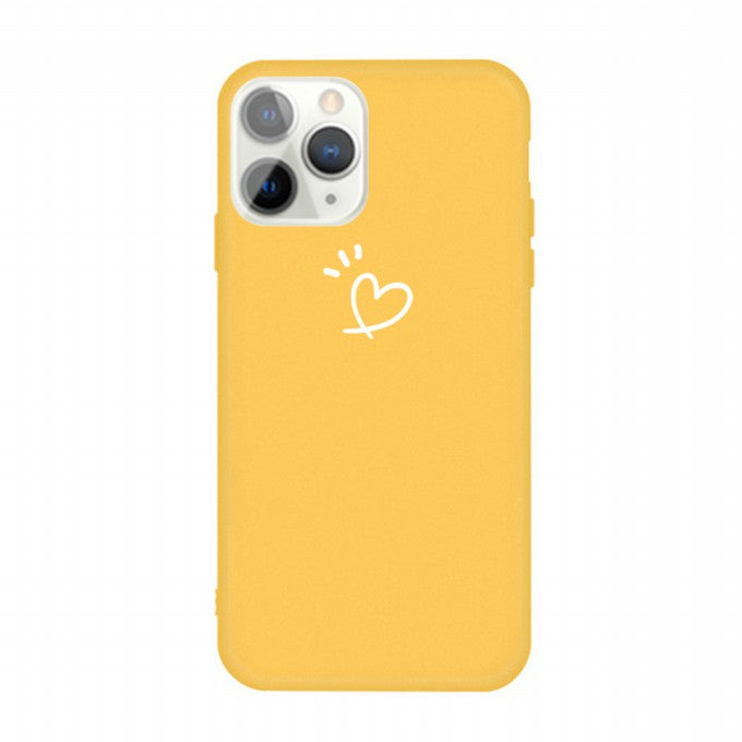 Love Heart Pattern TPU Protective Case for iPhone 11 Pro Max 6.5 inch
