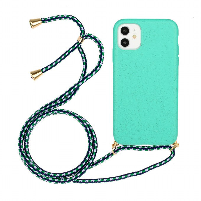 Soft TPU Protective Case with Multi-function Strap for iPhone 11 6.1 inch