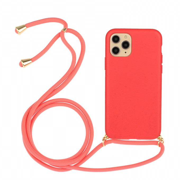 Soft TPU Protective Case with Multi-function Strap for iPhone 11 Pro 5.8 inch
