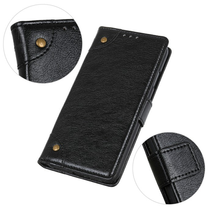 Nappa Texture Wallet Nappa Texture PU Leather Phone Case for iPhone 12 Pro Max 6.7 inch