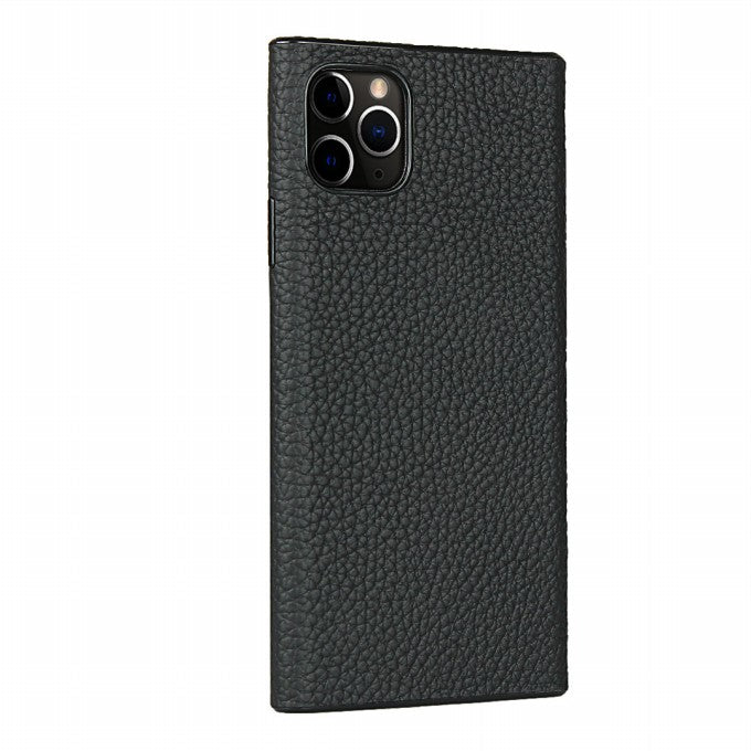 Custer/litchi PU Leather Protective Case for iPhone 11 Pro 5.8 inch