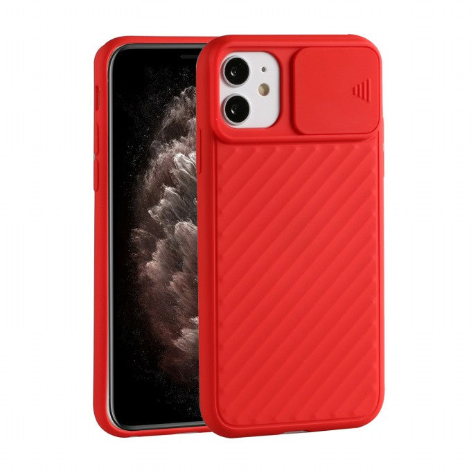 TPU Protective Case with Slide Camera Cover for iPhone 12 5.4 inch