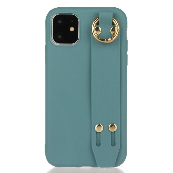 Matte TPU Protective Case with Kickstand for iPhone 12 5.4 inch