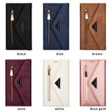 Leather Case with Zipper Strap for iPhone 12 Pro/12