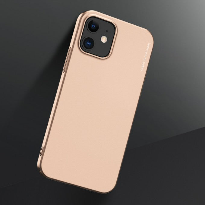 Knight Series Frosted Plastic Case for iPhone 12 / 12 Pro