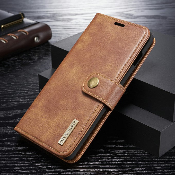 Wallet Detachable 2-in-1 Split Leather Phone Case for Samsung Galaxy S10