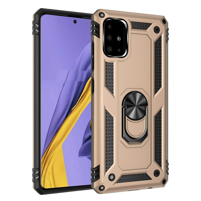 PC + TPU Protective Case for with KickstandSamsung Galaxy A51