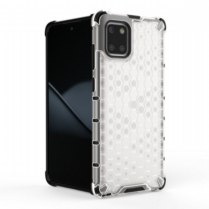 Honeycomb Pattern PC + TPU Protective Case for Samsung Galaxy A81