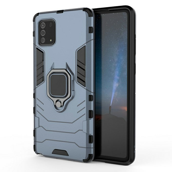 PC + TPU Protective Case with Hybrid Kickstand for Samsung Galaxy A81