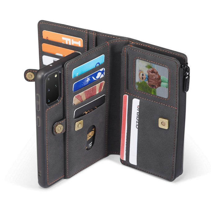 Card Slot Leather Phone Case for Samsung Galaxy S2Plus