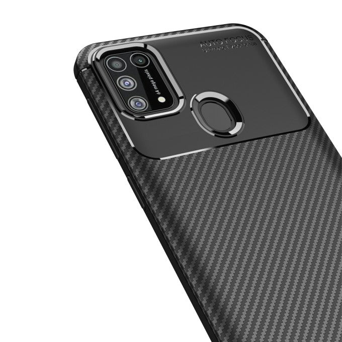 carbon fiber TPU Protective Case for Samsung Galaxy M31