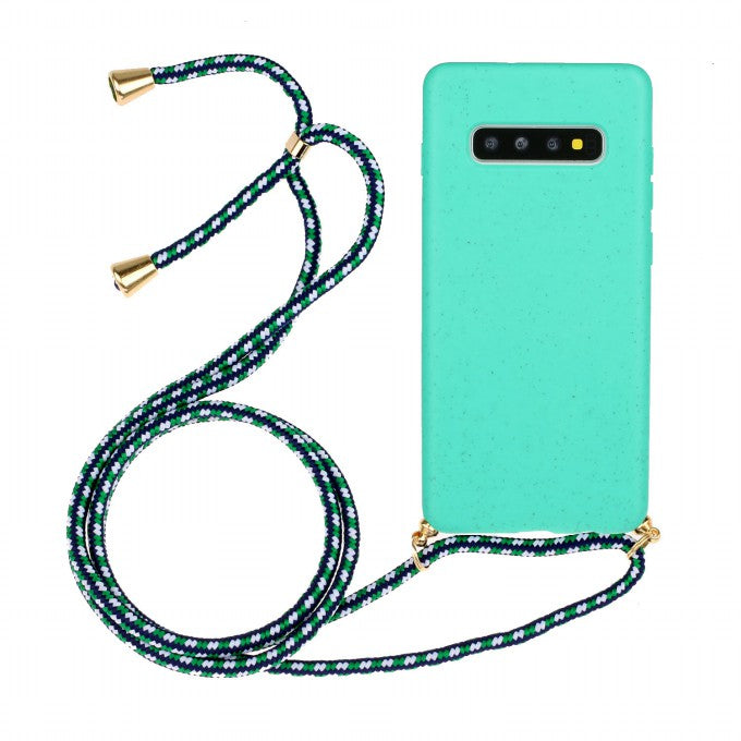TPU Protective Case with Hand Strap for Samsung Galaxy S10