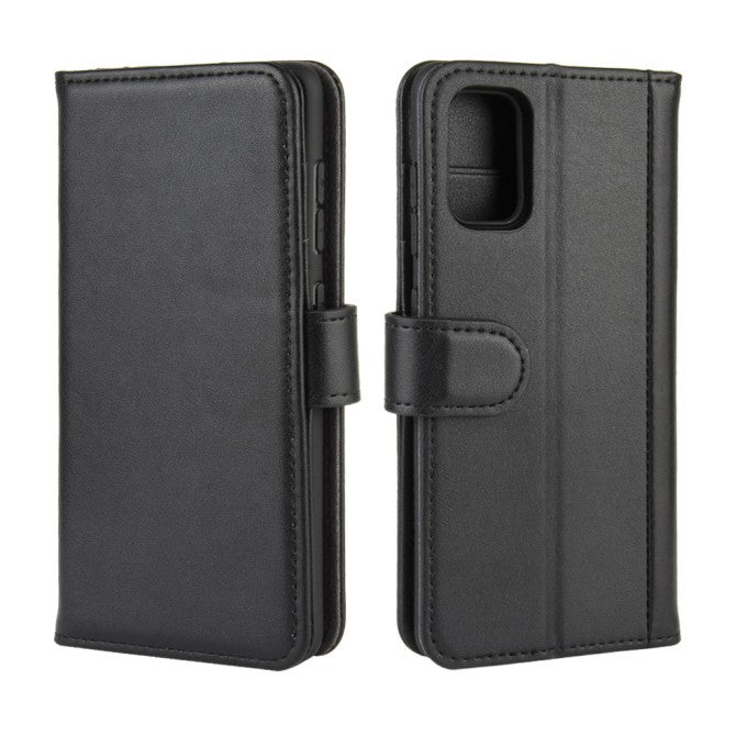Split Leather Wallet Cover for Samsung Galaxy A41 (Global Version)