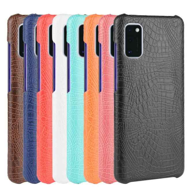 Crocodile Skin PU Leather Protective Case for Samsung Galaxy A41 (Global Version)