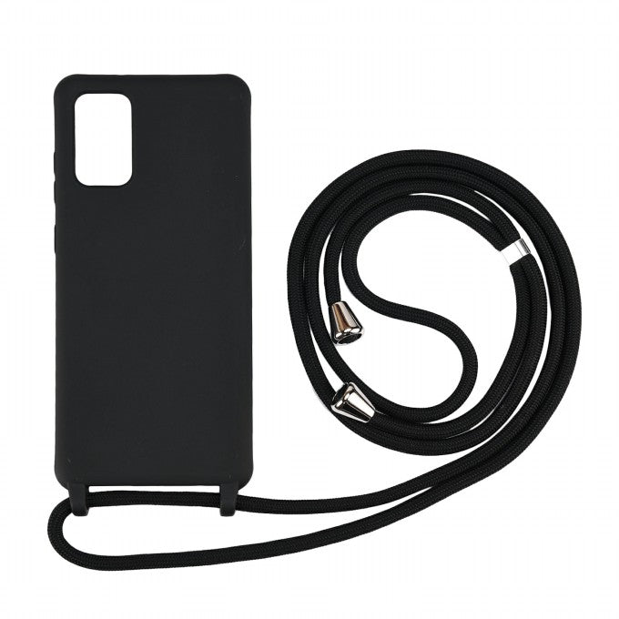 Soft TPU Mobile Phone Case with Multi-function Strap for Samsung Galaxy S20