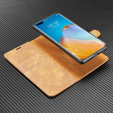 Wallet Detachable 2-in-1 Split Leather Phone Case for Samsung Galaxy A31