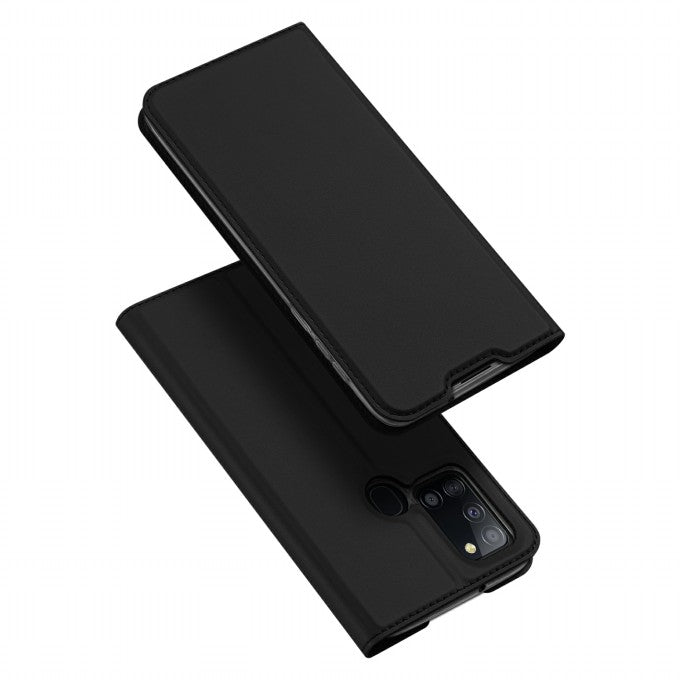 Card Slot Leather Phone Case for Samsung Galaxy A21s