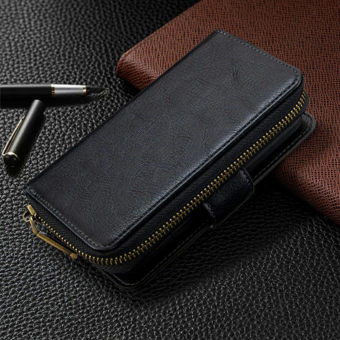 Wallet BF001 Leather Phone Case for Samsung Galaxy A91