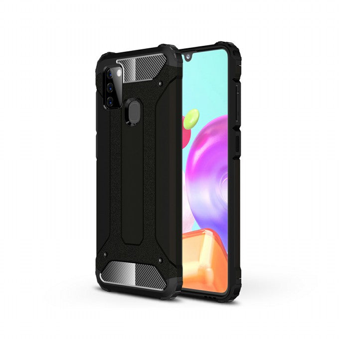 PC + TPU Protective Hybrid Case for Samsung Galaxy A21s