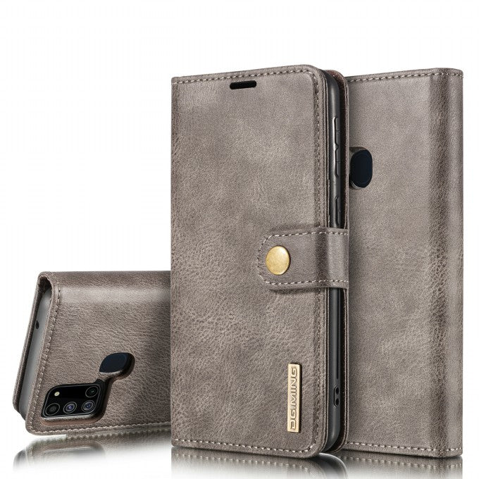 Wallet Detachable 2-in-1 Split Leather Phone Case for Samsung Galaxy A21s