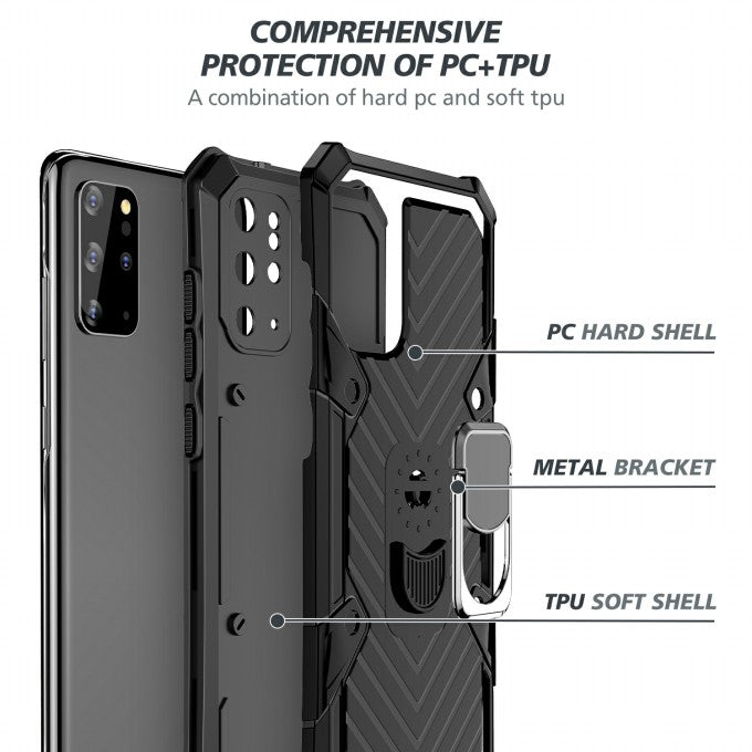 PC + TPU Protective Case for Samsung Galaxy S2Plus