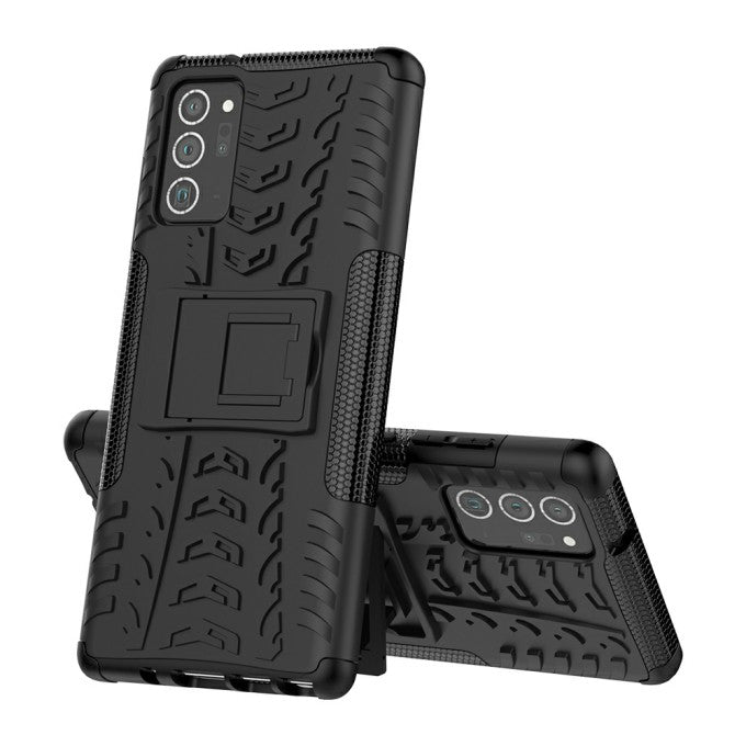 Cool Tyre PC + TPU Protective Case with Kickstand for Samsung Galaxy Note 20