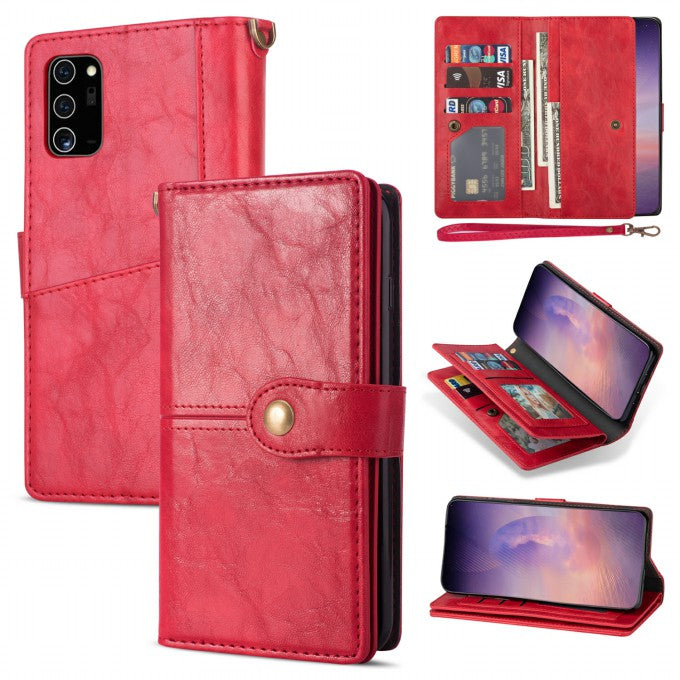 Wallet Retro Leather Phone Case for Samsung Galaxy Note2Ultra