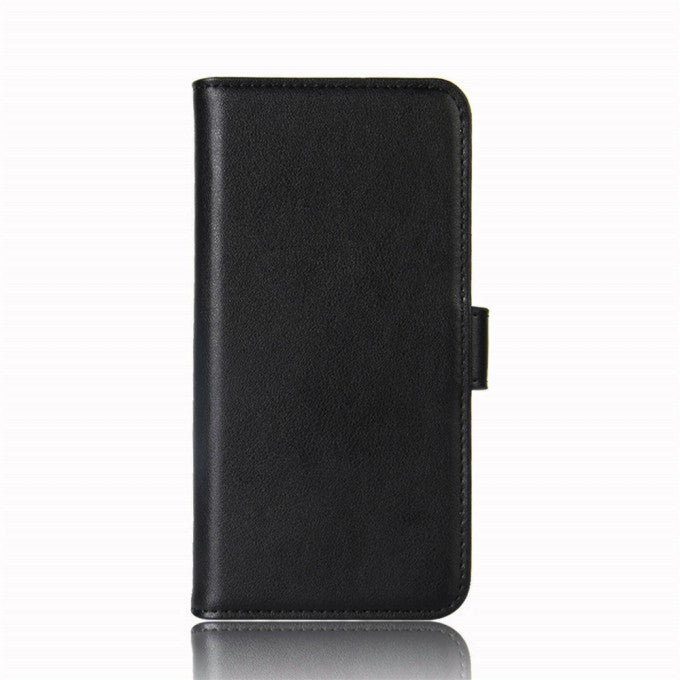 Split Leather Phone Protective Case with Wallet and Stand for Samsung Galaxy A42 5G