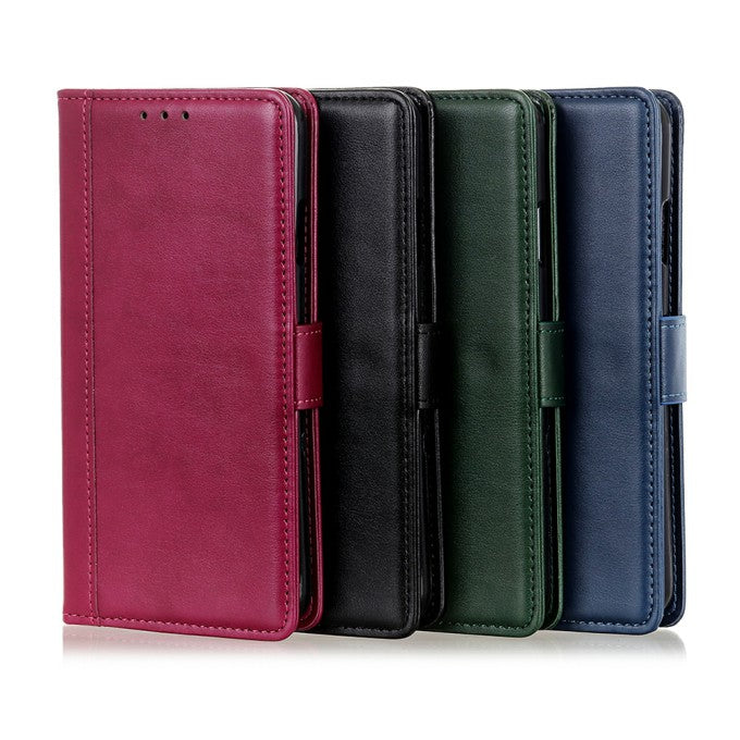 Wallet Stand Leather Phone Case for Samsung Galaxy S21