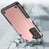 Plastic + TPU Hybrid Protection Phone Case Case for Samsung Galaxy S21