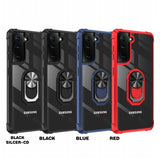 Hard PC Panel + Soft TPU Edge Phone Case for Samsung Galaxy S21 Plus