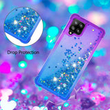 Color Gradient Glitter Quicksand TPU Phone Casing for Samsung Galaxy A42 5G