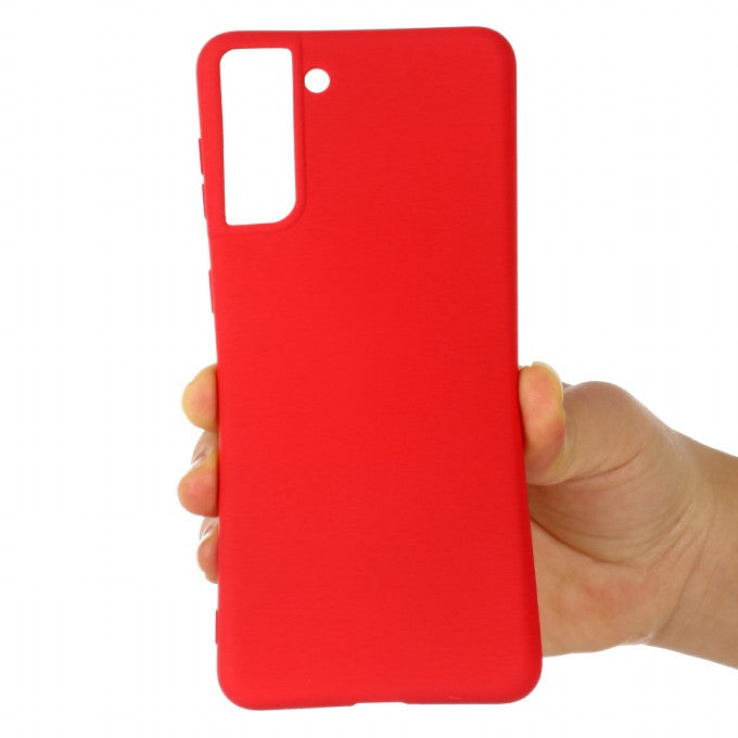 Shockproof Soft Liquid Silicone Phone Case for Samsung Galaxy S21+