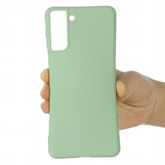 Shockproof Soft Liquid Silicone Phone Case for Samsung Galaxy S21