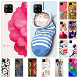 Pattern Printing TPU Phone Case for Samsung Galaxy A42 5G