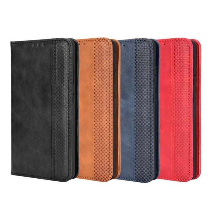 Wallet Stand Auto-absorbed Leather Phone Case for Samsung Galaxy A52 5G