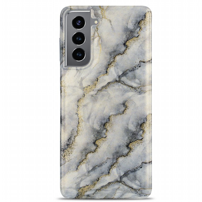 Gilding Marble Pattern Printing Design TPU Phone Case For Samsung Galaxy S21 Plus