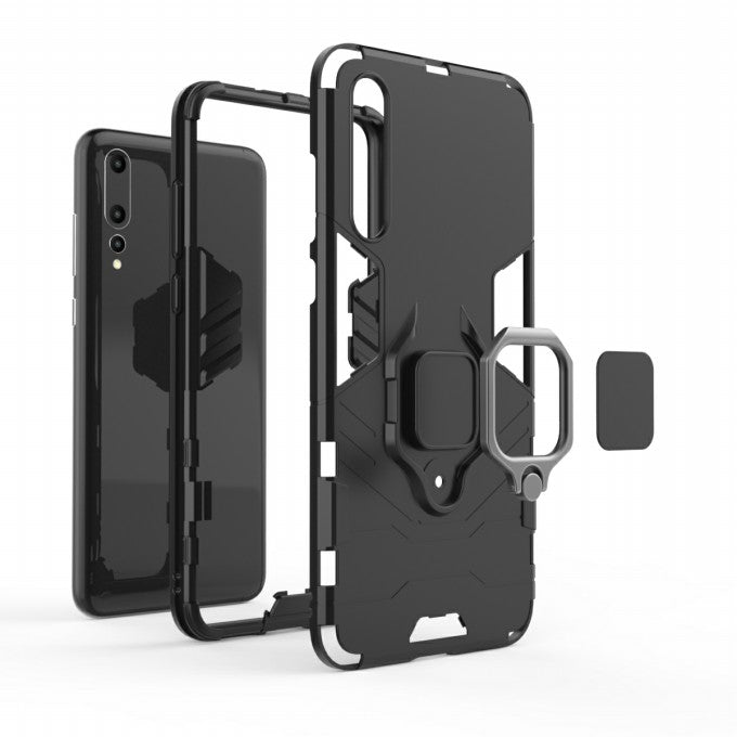 PC + TPU Protective Case with Kickstand for Huawei P2Pro