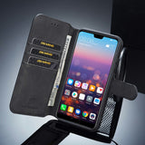 Wallet Retro Style Leather Phone Case for Huawei P2Lite (2018)